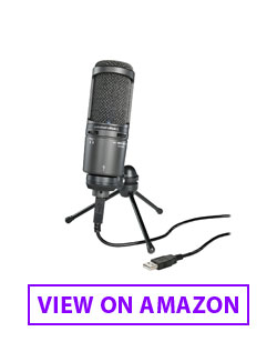 Audio Technica AT2020 Streaming Mic
