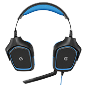 the Logitech G430 has the best cheap streaming headset