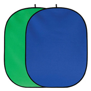 Fancierstudio Reversible or Collapsible Chroma Green and Blue Screen