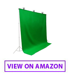 LimoStudio Chromakey Green Muslin Backdrop