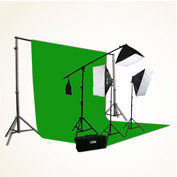 ePhoto ChromaKey Best Green Screen Background Kit