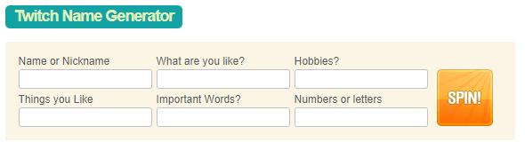 twitch name generator quiz